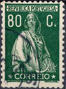 Stamp Portugal   Ceres 80c Used Lot#88 - 1910-... Republik