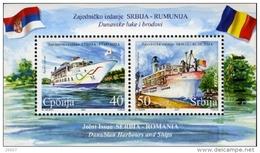 Serbie Serbia Bf 005 Roumanie , Bateaux , Danube
