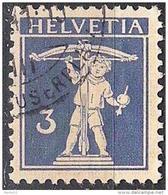 Fils De Tell-Knabe 1933: Zu 182z Mi 199z Yv 241  GERIFFELT O BASEL ?.?.41 (Zumstein CHF 30.00)