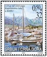 Serbie Montenegro 3052 Voiliers