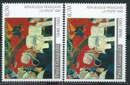 Variété : N° 3206 Gauguin Coiffes Blanches Au Lieu De Verdâtre + Normal **