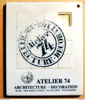 Taquin - Pousse Pousse - Atelier 74 Architecture Décoration - Annecy - Casse-têtes