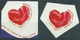 Variété : N° 3221 Cœur Orange Au Lieu De Rouge + Normal **