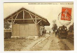 Lot 6 Cartes Modernes TRAIN ESCRENNES BAZOCHES GALLERANDES GUIGNEVILLE GRENEVILLE OUTARVILLE - Altri Comuni
