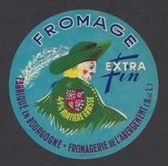 Etiquette De Fromage  -  Fromagerie De L'Abergement  (71) - Cheese