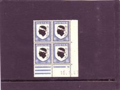 N° 755 - 10c Blason De La CORSE - B De A+B - 4° Tirage Du 3.1.47 Au 11.1.47 - 10.01.1947 -