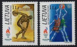 Lithuania. Lituania. Litauen 1996. Olympic Games, Atlanta-96. MNH**