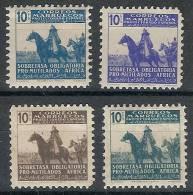 Marruecos Beneficencia 22/25 (*) Franco.1943. Sin Goma - Marruecos Español