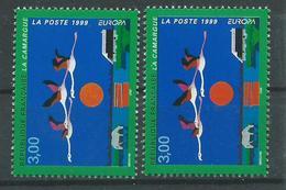 Variété : N° 3240 Europa La Camargue Jaune-orange Au Lieu D'orange + Normal **