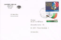 23434. Carta LAGOA (portugal) 1984. Fechador PRAIA Do CARVOEIRO (algar)