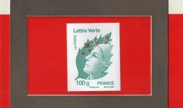 MARIANNE  DE  L ' EUROPE  --  Y & T  4662 P    -- 100  G.  LETTRE  VERTE  --  FRANCE  --  BEAUJARD  --  NEUF....