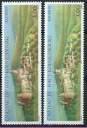Variété : N° 3245 Château Du Haut-Koenigsbourg Sans L'orange Paysage Et Collines Vert + Normal **