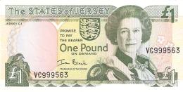 JERSEY   1 Pound   ND (2000)   P. 26a   UNC - Jersey