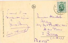 23438. Postal BRUGGE, Bruges (belgien) 1928. Le Beffroi - Bélgica