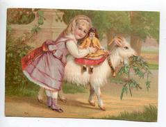 Chèvre Poupée Fillette - Trade Cards