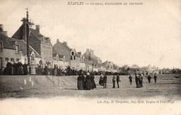 62 ETAPLES  Le Quai , Procession Au Calvaire - Etaples