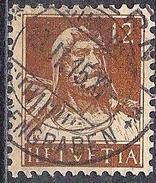 Tell 1914: Zu 127 Mi 119 Yv 139 Mit Voll-o BERN 13.II.15 (Zumstein CHF 10.00)
