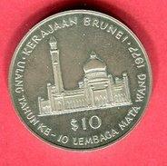 § 10 $ MOSQUE (KM 21) SUP 125 - Brunei