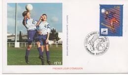 3110    FDC Francia  Montpellier  , Copa Del Mundo Fútbol   1998  Football - FDC