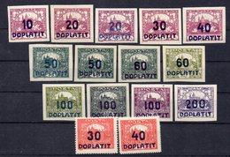 CZECHOSLOVAKIA  1922 ,MNH , DOPLATIT