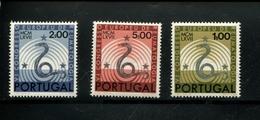 432743027 DB 1967 PORTUGAL POSTFRIS MINT POSTFRISCH EINWANDFREI ETAT NEUF YVERT 1021 1022 1023