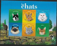 Nouvelle Calédonie 2004 N°923/928 Neufs Avec Chats