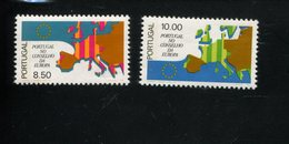 432744077 DB 1977 PORTUGAL POSTFRIS MINT POSTFRISCH EINWANDFREI ETAT NEUF YVERT 1328 1329