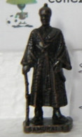MONDOSORPRESA, KINDER FERRERO (SD13) SAMURAI N° 1, SCAME - K93 N°139, BRUNITO - Figurine In Metallo