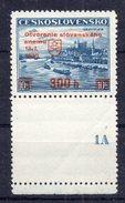 CZECHOSLOVAKIA  1939 ,MNH , PLATE NUMBER 1A