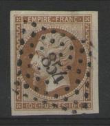 N°13B (type 2) Oblitéré P.c.854       - Cote 30€ -