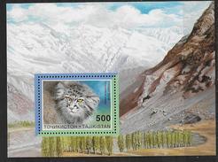 Tadjikistan 1996 Bloc 11 Neuf Avec Chat
