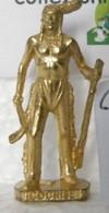 MONDOSORPRESA, KINDER FERRERO (SD19) INDIANI COCHISE K94 N°111 SCAME, 40mm, DORATO - Figurine In Metallo