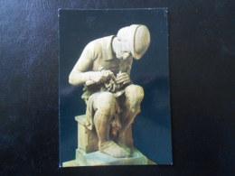 CARTE POSTALE : COLMAR - MUSEE BARTHOLDI - Monument Schoengauer - Le Ciseleur - Autoportrait De Bartholdi - Museum