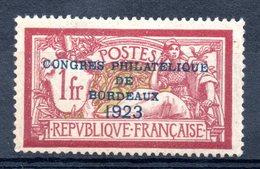 FRANCE - YT N° 182 - Neuf * - MH - Cote: 575,00 €