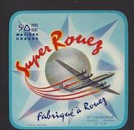 Etiquette De Fromage  Carré  -  Super Rouez  -  Ets R. Faussurier à Rouez En Champagne  (72 N) - Cheese