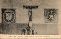 42. Valfleury. Blason Historique  De La Salle Des Pélerins - Otros Municipios