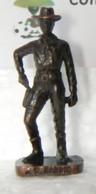 MONDOSORPRESA, KINDER FERRERO (SD22) COWBOY, JOHN WESLEY HARDIN, SCAME, BRUNITO 40 Mm -K94 N° 114 - Figurine In Metallo