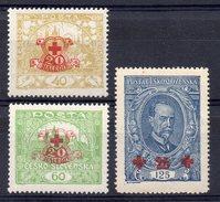 CZECHOSLOVAKIA  1920 , MNH , RED CROSS