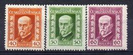 CZECHOSLOVAKIA  1925 , MNH, T.G.MASARYK