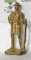 MONDOSORPRESA, KINDER FERRERO (SD25) COWBOY, BUFALO BILL, SCAME, BRUNITO 40 Mm -K94 N° 113 - Figurine In Metallo