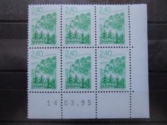 France. Coin Daté 14/03/1995. YT. 2950 **. Paysage De Bretagne.
