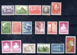 1944 - 1970, Danemark -  Divers TP Selon Scan, Neuf **, Lot 47277 - Lotes & Colecciones