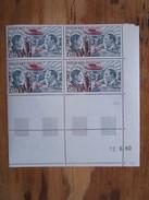 France. Coin Daté 12/06/1980. YT. PA 48 **. Pionniers De La Poste Aérienne. Guillaumet Et Codos.