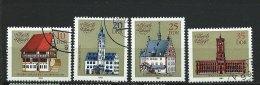 DDR-RDA - N° 2420 à 2423  -  Hôtels De Villes Touristiques  - O