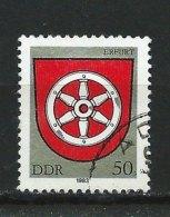 DDR-RDA - N°  2463   - Armoiries De Erfurt - O