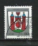 DDR-RDA - N°  2464   - Armoiries De Francfort-sur-l'Oder - O