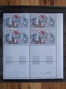 France. Coin Daté 07/04/1982. YT. PA 48 **. Pionniers De La Poste Aérienne. Guillaumet Et Codos.
