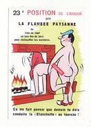 """Humour Illustré Par Alexandre , Série """"Position De L'amour""""  N°23 - Alexandre"""