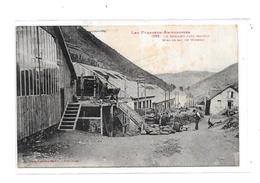 09 - LE BOCARD Près Sentein : Mise En Sac Du Minerai - Autres Communes
