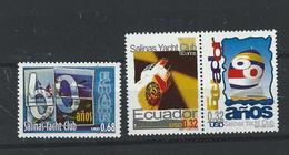 EC - 2000 - 2489-91 -  The 60th Anniversary Of Salinas Yacht Club    - ** -MNH - POSTFRISCH(3) - Equateur
